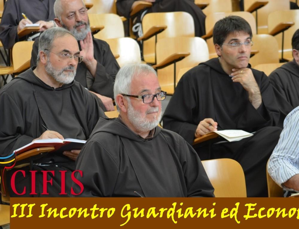 Invito III Incontro dei guardiani ed economi CIFIS