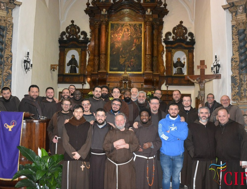 Visita fraterna alla fraternità del noviziato