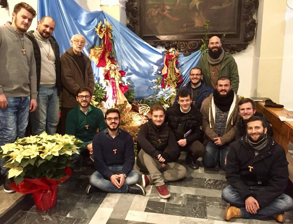 Auguri di Natale dalla Fraternità del Postulato di Cava de' Tirreni