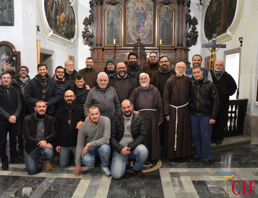Visita fraterna dei Ministri Provinciali CIFIS al Postulato