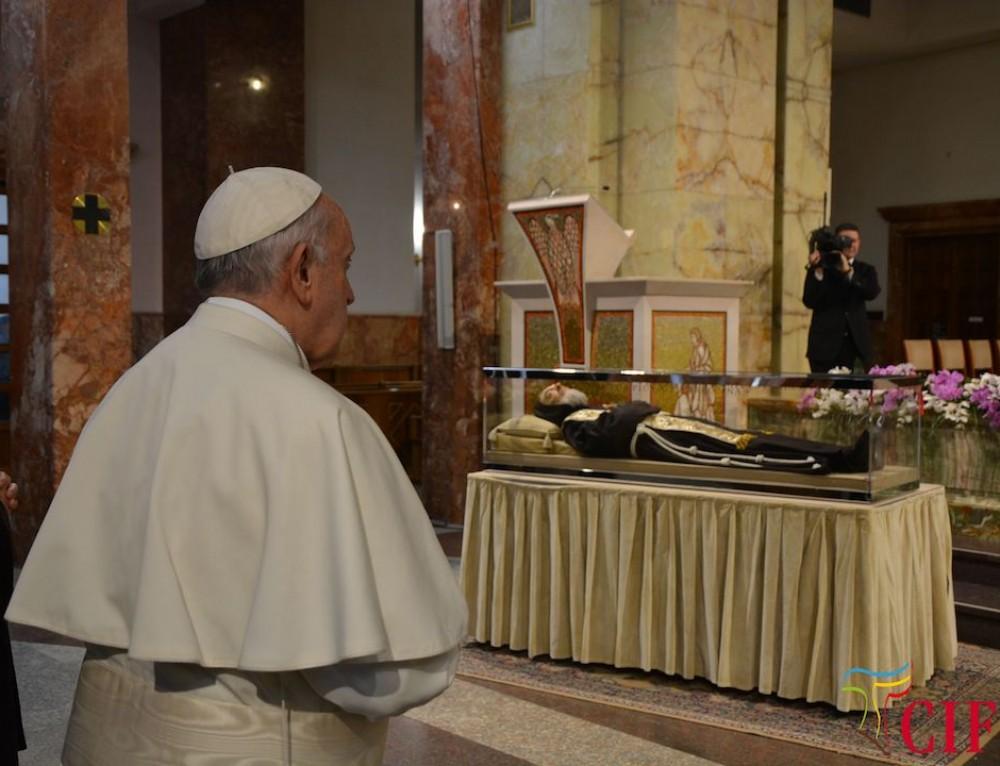 Omelia di Papa Francesco a San Giovanni Rotondo